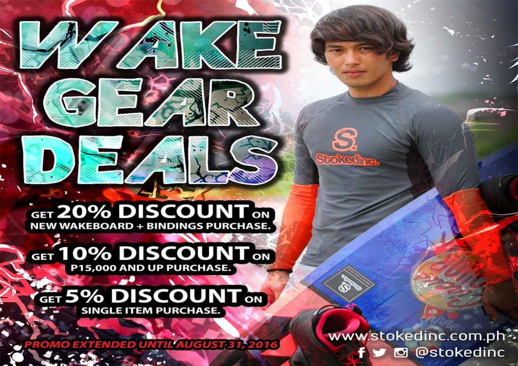 Wake Gear Sale Extended