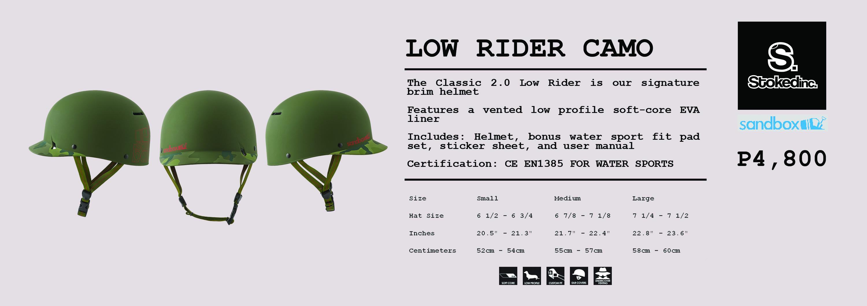 Lower Rider Camo
